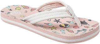 Reef Girls Ahi Summer Slip On Beach Flip Flops Sandals Summatime 4/5 US