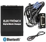 Electronicx Elec-M06-REN8-BT Adaptador de Musica para Coche USB SD MP3 AUX Bluetooth Kit Manos Libres para Renault 8 Pin