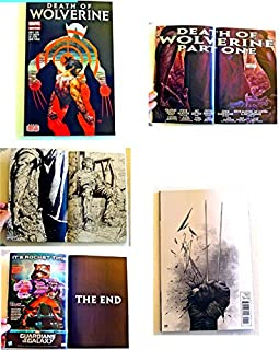 Death Of Wolverine # 1-1st Edition Holo Foil Cover - Comic Book - Marvel Comics 2014 - Uncirculated Comic Book Graded 9.8 By The Seller - Printed On August 8 2014 - This Is For 1 Comic Book Only