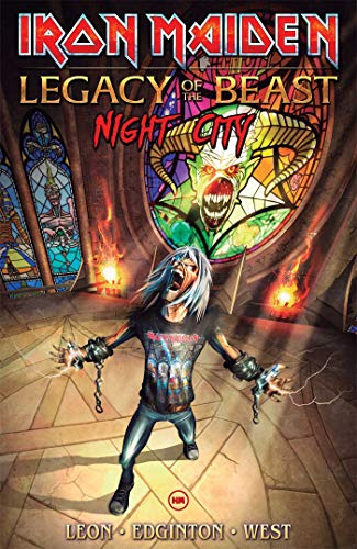 Iron Maiden Legacy of the Beast Volume 2: Night City