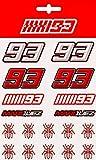 GP-Racing 93 - Pegatinas medias