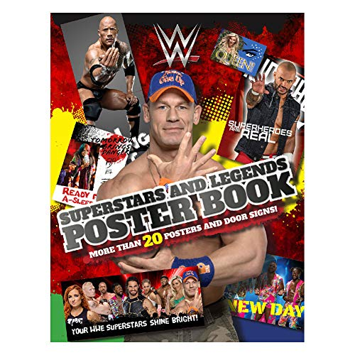 WWE Superstars and Legends Poster Book Multi