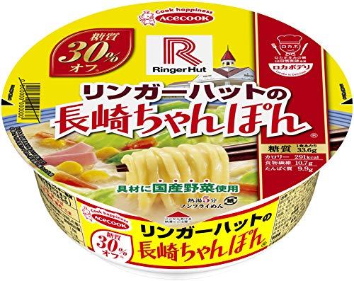 エースコック ロカボデリ リンガーハットの長崎ちゃんぽん 糖質オフ 85g ×12個