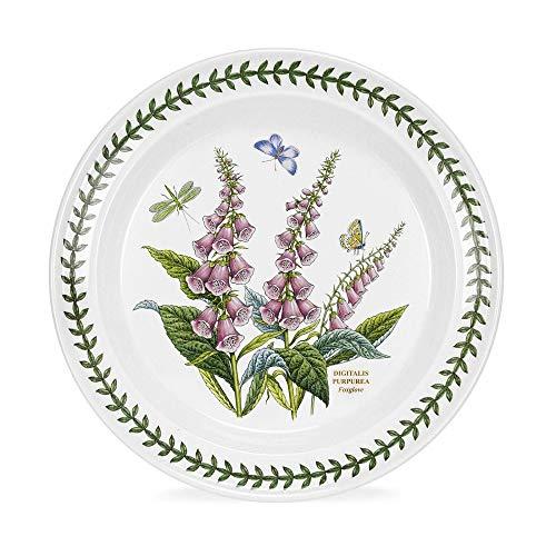Portmeirion Botanic Garden Digitalis Purpurea Foxglove 10-in Dinner Plate …