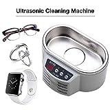 FMXYMC Ultraschall Schmuckreiniger ABOX Professionelle Reinigungsmaschine 20 Unzen