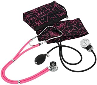 NCD Medical/Prestige Medical A2-PHB - Juego de tensiómetro de brazo y estetoscopio tipo Sprague-Rappaport