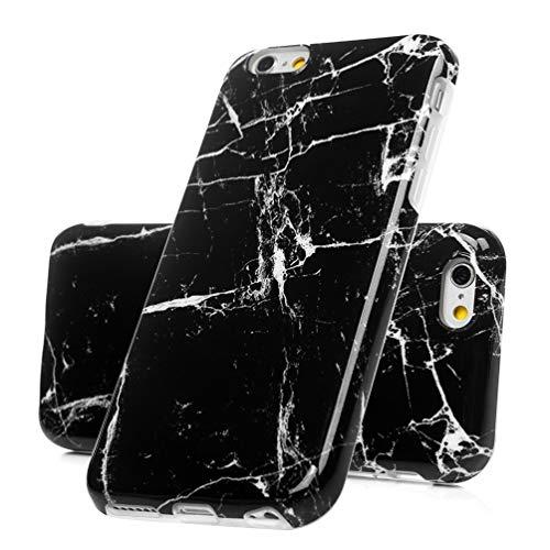 ToneSun - Carcasa para iPhone 6 Plus/iPhone 6S Plus, 3 Carcasas de mármol TPU, Carcasa de Silicona TPU con tecnología IMD