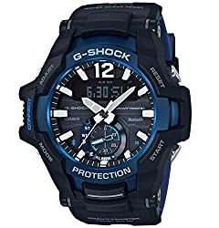 Casio GR-B100-1A2ER Casio g-shock with black resin strap Quartz movement