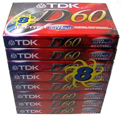 Read About TDK Dynamic 60 (8 pack)