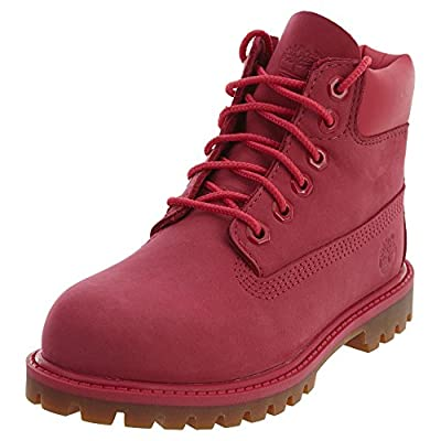 """Timberland 6"""" Premium Boot Toddlers Style: TB0A1ODP-Pink Size: 11.5"""