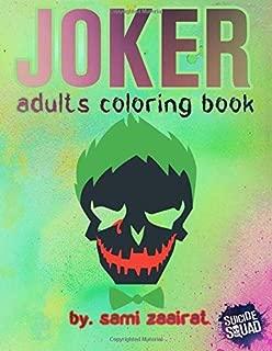Joker: adults coloring book