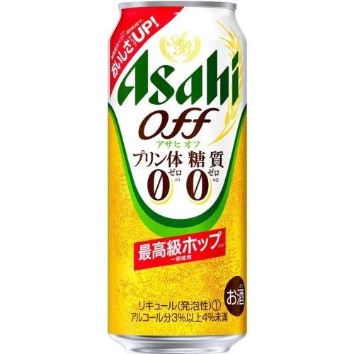 アサヒ アサヒオフ【プリン体0・糖質0】500ml缶2ケース(48本入)
