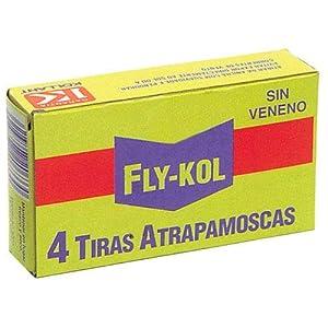 PAPILLON 14040130 Atrapamoscas Fly-KOL (Estuche 4 Tiras)