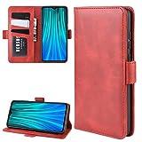 Ranjincas pour Xiaomi redmi Note 8 Pro Double Boucle Crazy Horse Affaires pour téléphone Portable...