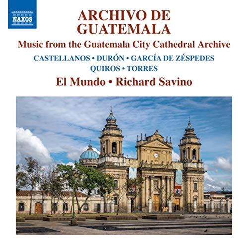 Instrumental Ensemble Music - Archivo de Guatemala: Music From The Guatemala City Cathedral Archive