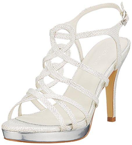 Menbur Wedding Tamar, Zapatos de Boda para Mujer, Marfil (Ivory 04), 40 EU