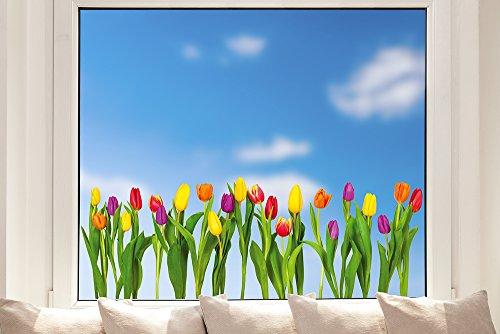 Pixblick Fenstersticker - Tulpen