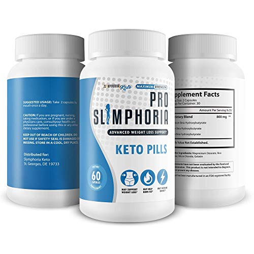 Pro Slimphoria Keto Pills - Advanced Weight Loss Support - Burn More Fat - Lose More Weight - Faster Ketosis with Slimphoria Keto Capsules -Slimphoria Keto with BHB - Slimphoria Pills 4