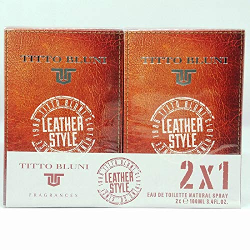 TITTO BLUNI LEATHER STYLE EDT75 ML SPRAY PROMOCIÓN 2 X 1