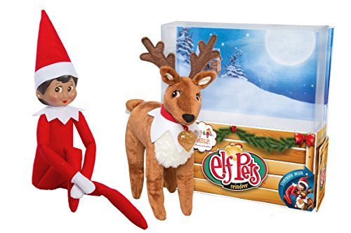 The Elf on the Shelf: A Christmas Tradition Brown Eyed North Pole Elf Girl with The Elf on a Shelf: Elf Pets A Reindeer and The Elf on the Shelf: Elf Pets Storybook