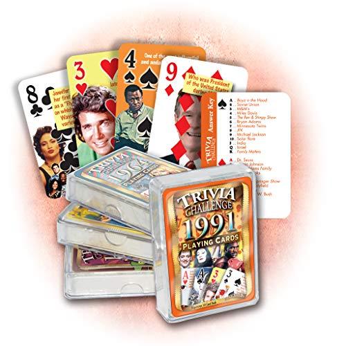 Flickback 1991 Trivia Playing Cards: 30th Birthday