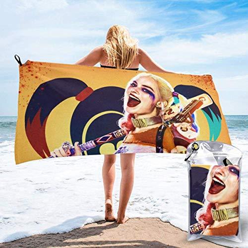 chenjian Toalla de baño de secado rápido suave toalla de playa para viajes, camping, gimnasio, piscina, sillas de playa