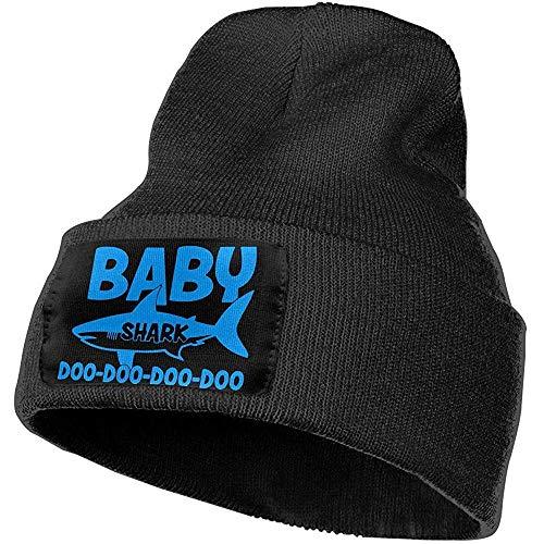 Zhgrong Mützen Hut Mütze-Unisex Baby Hai DOO DOO DOO im Freien warm gestrickt Mützen Hut weiche Winter Schädelkappen