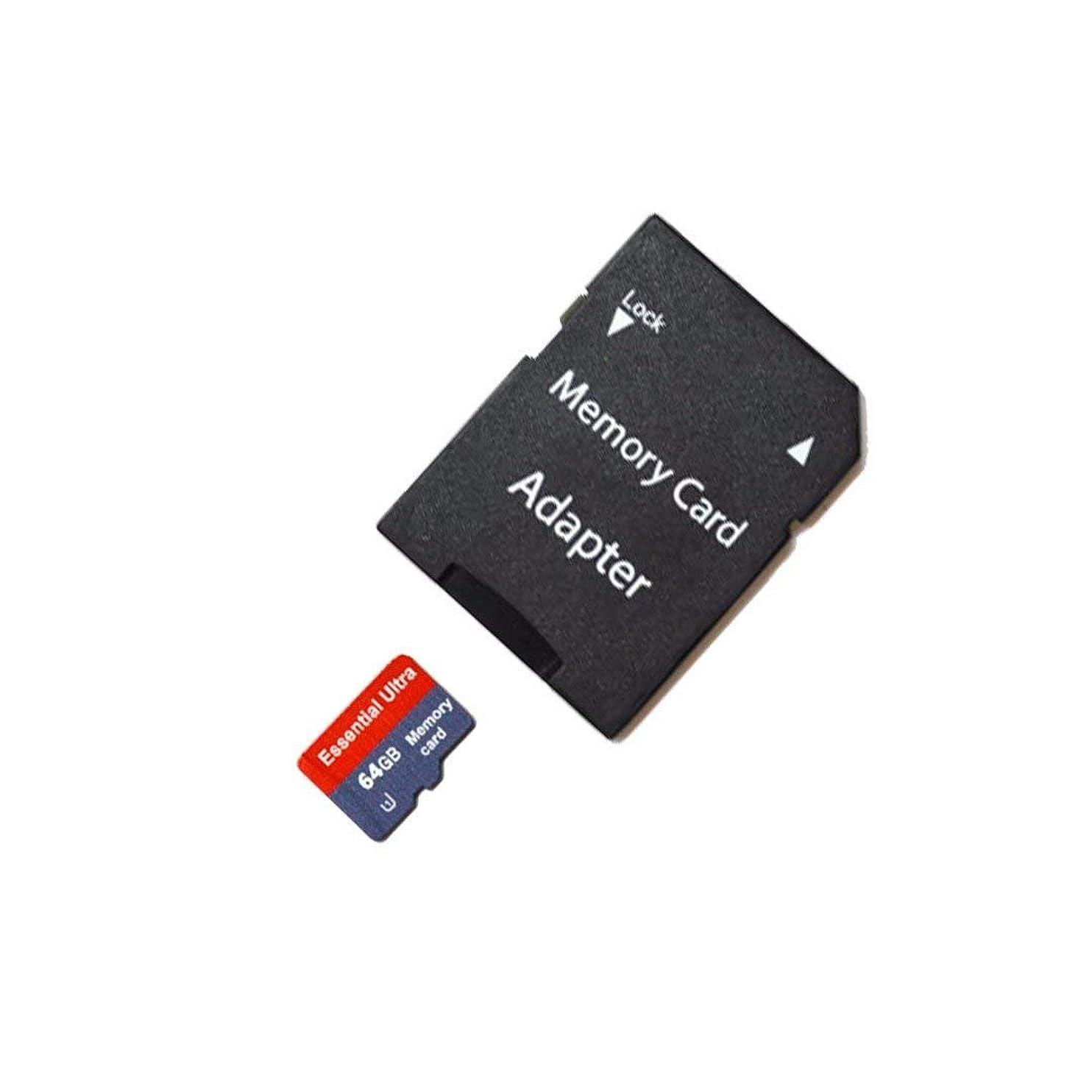 帳面半球球状Essential Ultra 64GB Samsung Galaxy J7 Prime 2 MicroSDXCカード カスタムフォーマット付き 高速ロスレス認証 SDアダプター付き。 (クラス10、最大500xまたは70MB/秒)。