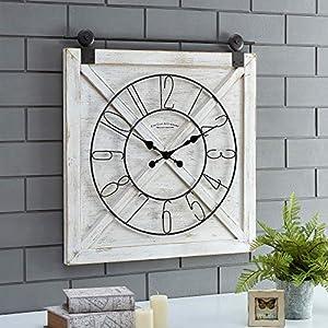 51FUdKNysmL._SS300_ Coastal Wall Clocks & Beach Wall Clocks