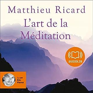 Couverture de L'art de la Méditation