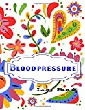 Blood Pressure Log Book: Keeps Track Of BP And Pulse Record & Monitor Blood Pressure 116 Page Size 8.5 X 11 Inch Glossy Cover Design Cream Paper Sheet ~ Record - Personal # Readings Very Fast Prints.