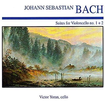 Johann Sebastian Bach: Suite for Violincello No. 1 + 2