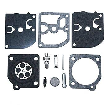 AUMEL Carburetor Gasket Repair Kit for Zama RB-39 McCulloch 3505 3214 3216 3505 3516 3818 Homelite John Deere Poulan WeedEater Chainsaw.