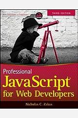 Professional JavaScript for Web Developers Paperback