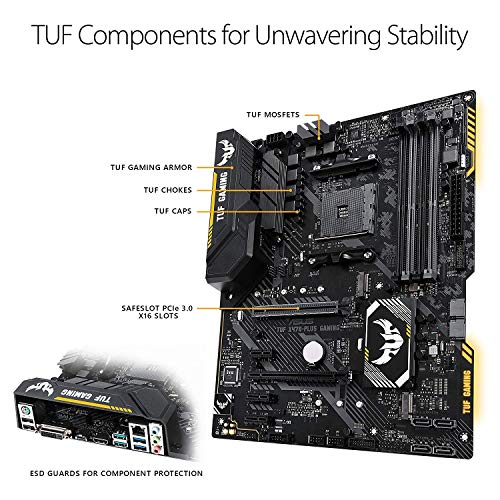 Build My PC, PC Builder, ASUS TUF X470-Plus Gaming