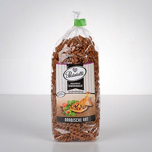 Pastatelli Arabische Nudeln - Arabische Gewürznudeln - Nudeln Arabischer Art - Arabische Gewürze in Pasta vegan