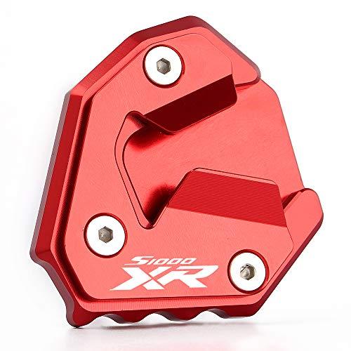 Motorrad Seitenständer Unterstützung Vergrößern Fuß-Verbreiterung Ständer Platte Teller Pad CNC-gefrästem Aluminium für B M W S1000XR 2014-2019