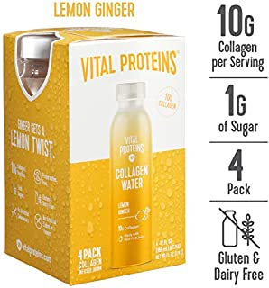 Vital Proteins Collagen Water™ (Lemon Ginger, 4 pack)