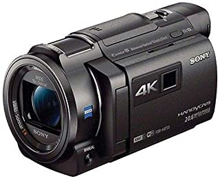 Sony FDR-AXP35 4K Camcorder with Built-In Projector Black