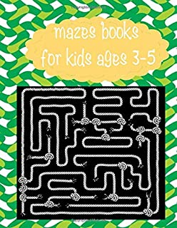 mazes books for kids ages 3-5: 161 maze,Activity Book