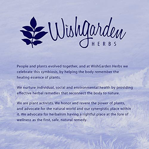 WishGarden Herbs Kick-Ass Immune - Organic Herbal Immune Booster Promotes Healthy System Response and Resistance, 2 Ounce