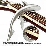 Immagine 1 imelod capo guitar capotasto shark