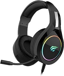 Headphone Fone de Ouvido Havit HV-H2232d, Gamer, Iluminação RGB, com Microfone, Falante de 50mm, Conector 3.5mm, HAVIT, H...