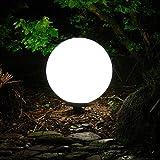 Dapo Kugelleuchte Marlon 30cm IP44 Garten-Außen-Dekorations-Leuchte-Lampe Boden-Terrassen-Balkon-Blumentopf-Blumenbeet-Teichrand-Treppen-Wege-Leuchte-Lampe