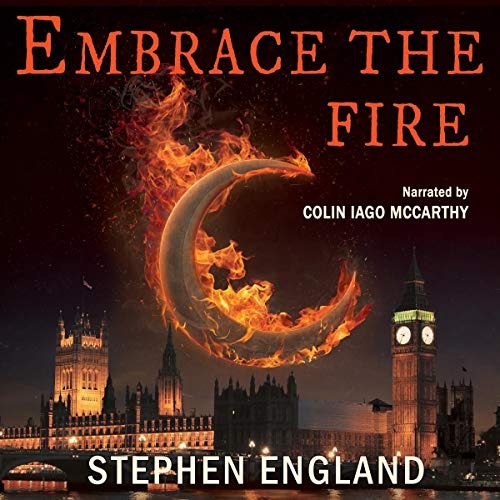 Embrace the Fire audiobook cover art