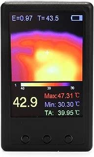 KKmoon 手持ち サーモグラフィカメラ 赤外線温度センサー 熱画像 デジタル赤外線サーマルイメージャ