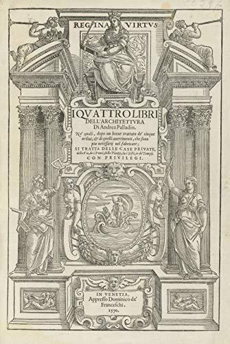 I quattro libri dell'Architettura (Italian Edition)