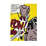 HZLYCH Roy Lichtenstein Sweet Dreams Baby Pow Lienzo Arte de Pared póster e impresión Imagen Decorativa para Dormitorio decoración del hogar -50x70 cm sin Marco