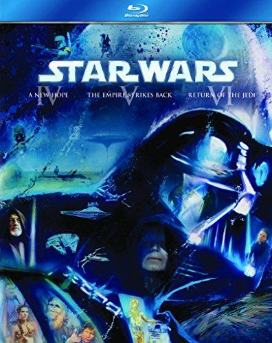 Star Wars Trilogy: Episodes Iv . V And Vi (3 Blu-Ray) [Edizione: Regno Unito] [Reino Unido] [Blu-ray]