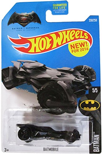 Hot Wheels, 2016 Batman, Batman vs. Superman: Dawn of Justice Batmobile Die-Cast Vehicle #230/250 by Hot Wheels